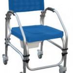 Cadira especial de dutxa i wc