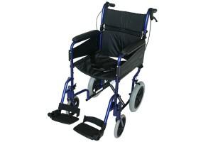cadira rodes alumini weekend x13 blava ortopedia mato palafrugell baix emporda