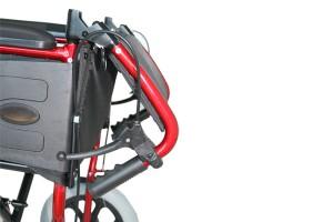 cadira rodes alumini weekend x13-burdeos-repaldo-abatible1 ortopedia mato palafrugell baix emporda