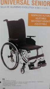 cadira rodes universal senior ortopedia mato palafrugell baix emporda
