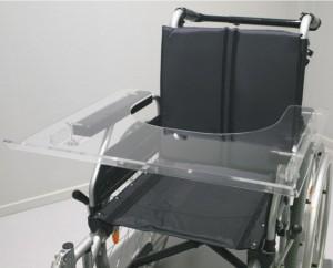 taula transparent per a cadira de rodes ortopedia mato palafrugell baix emporda