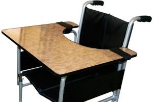 taula universal amb velcros per a cadira
