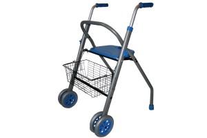caminador-aluminio-Alba-azul ortopedia mato palafrugell baix emporda girona