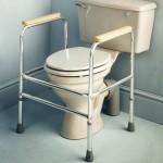 Reposabraços auxiliars d'alumini per wc