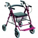 Rollator i cadira de rodes 2 en 1