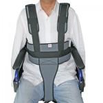 Cinturó de subjecció perineal amb tirants per a cadira